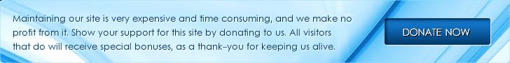 Banner: Bitte Spende Sie um diese Seite anleben zuerhalten